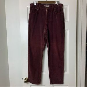 Vintage made in the shade brown corduroy pants 13